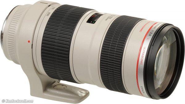 Canon Mount Lenses 70-200mm
