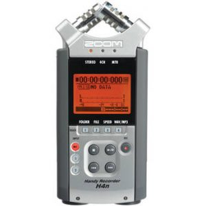 Zoom H4n Field Recorder