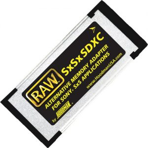 Hoodman Raw SxS SD Memory Adapter