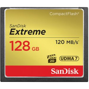 Compact Flash Card 128 GB