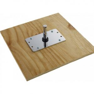 Pigeon Plate With Plywood Base